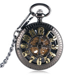 Unique Skeleton Half Hunter Pocket Watch - Pocket Watch Store