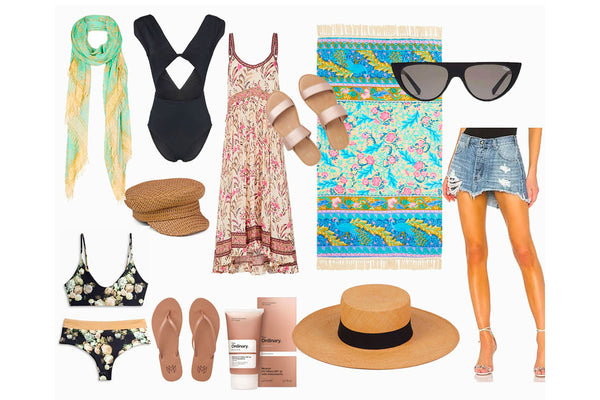 Vacation Style + Packing dos and don'ts for a Beach Vacay