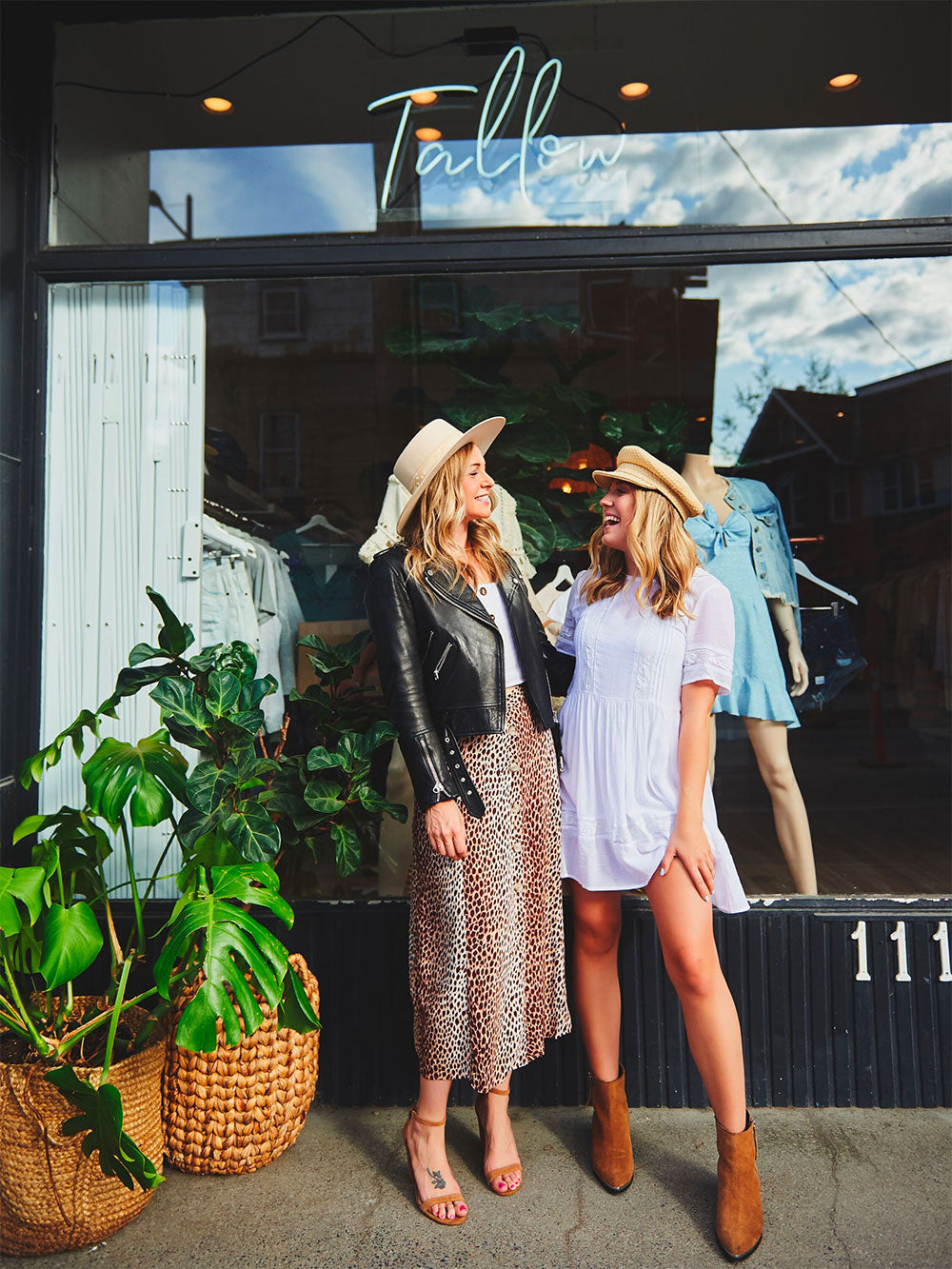 About Us Jasmine and Madi Tallow Boutique