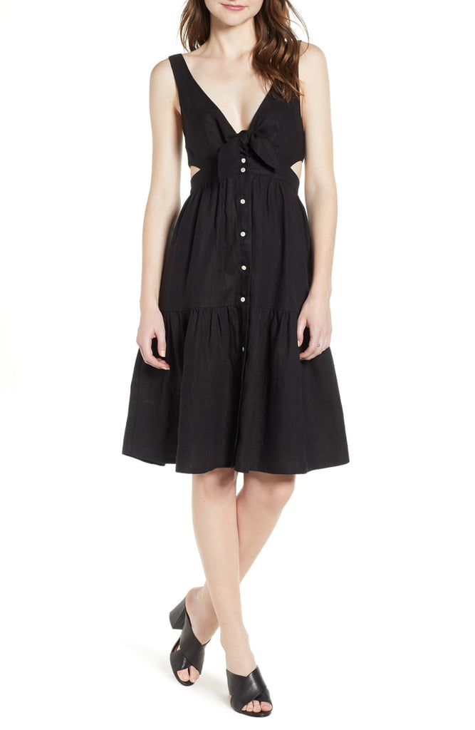 McGuire - Palizza Cut Out Dress, Black