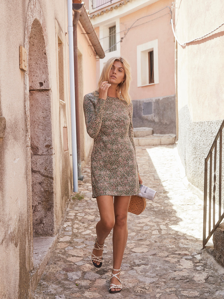 Auguste - Gemima Rory Mini Dress - Khaki
