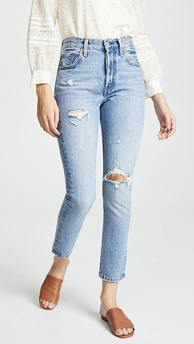 Levi's - 501 Original Skinny High Rise