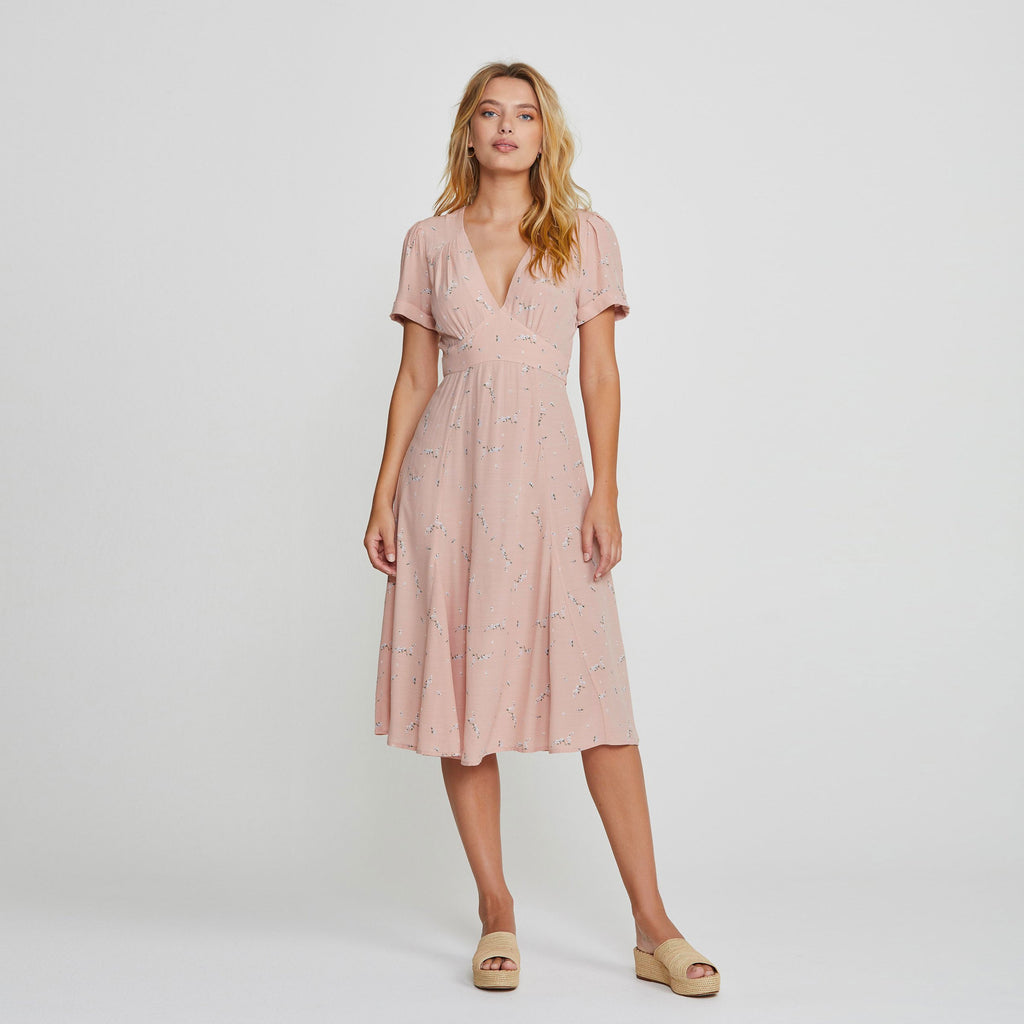 Auguste - Clementine Bonne Midi Dress Blush