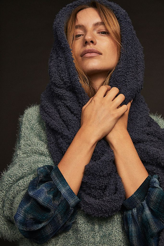 Free People - Clouds Scarf - Navy