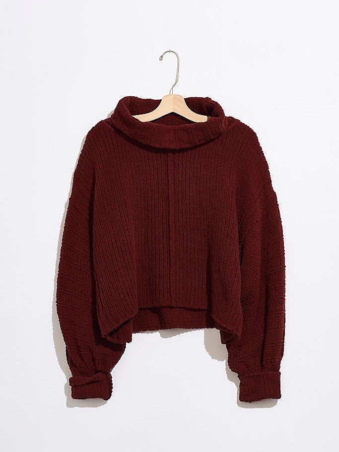 Free People - Be Yours Pullover - Sweet Cranberry