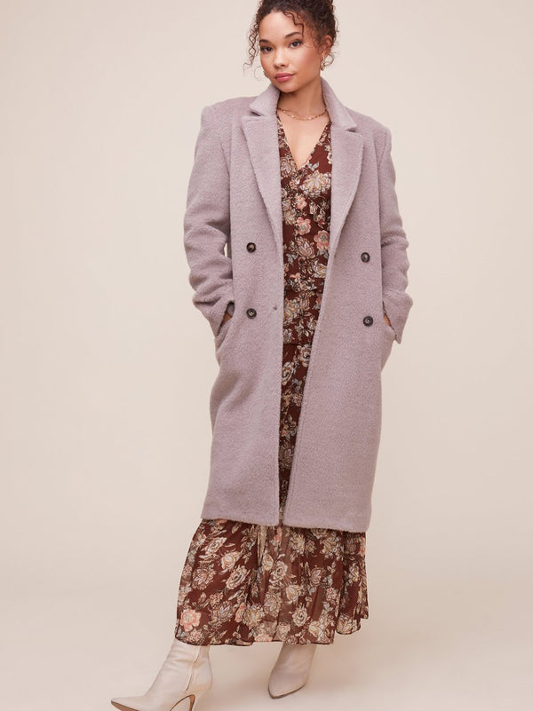 ASTR - BLAIR COAT - TAUPE
