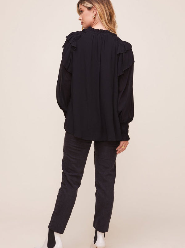 ASTR Rashida Blouse - Black