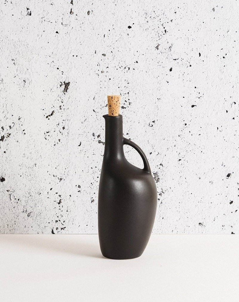 Olive Oil Bottle Canard 34 oz - Matte Black