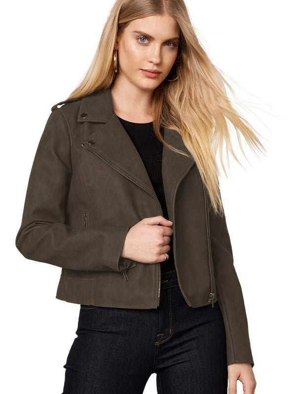 BB Dakota - Ain't It Cool Moto Jacket - Green