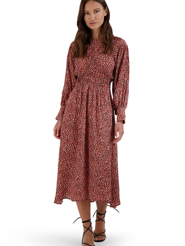 BB Dakota - Wild In Style Midi Dress - Rust