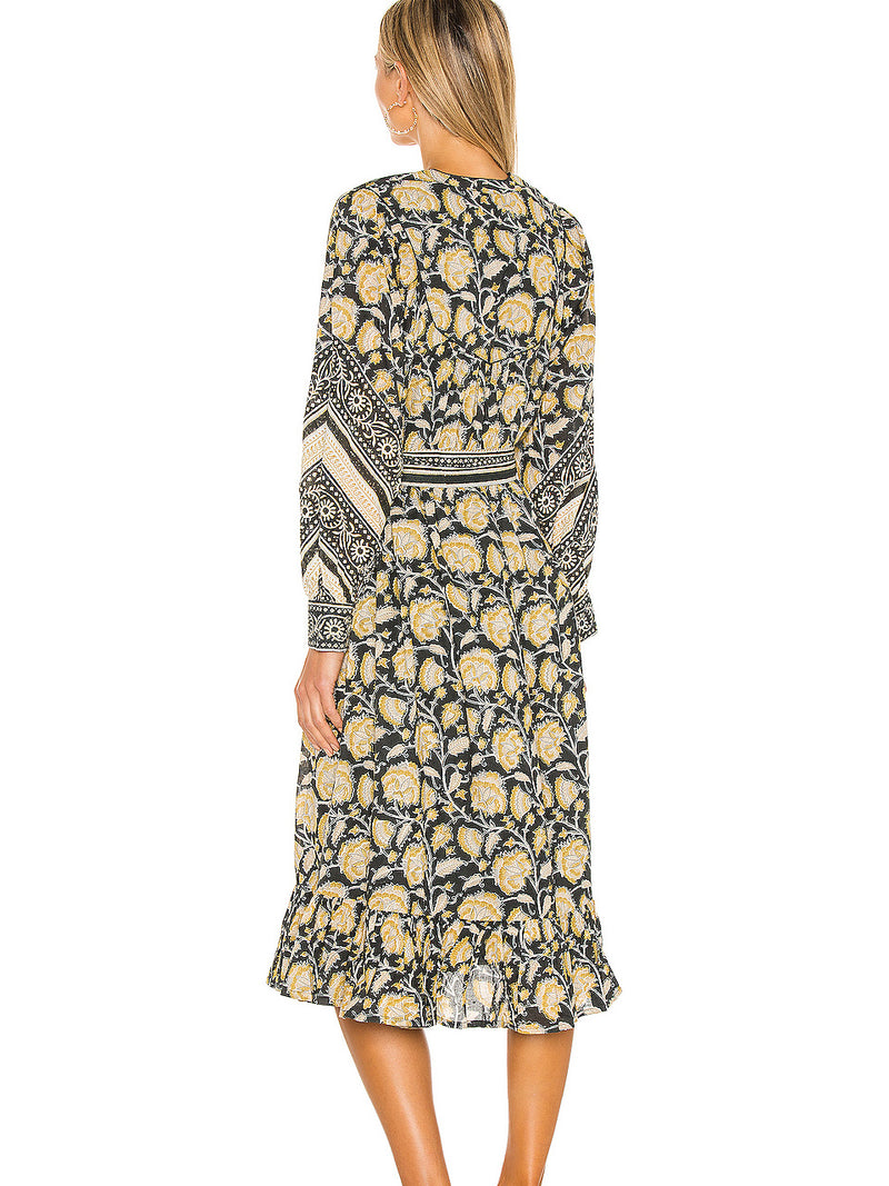 Cleobella - Lennox Midi Dress - Sita Eclipse (Presale)