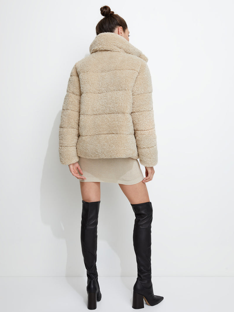 Unreal Fur - Golden Years Puffer Jacket