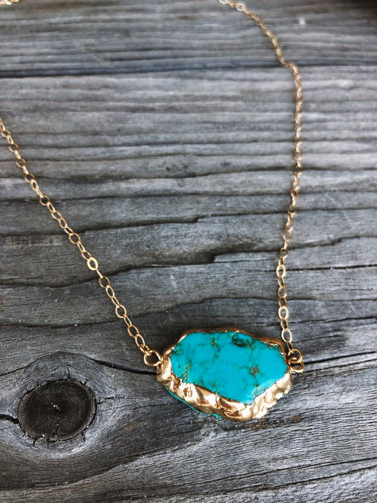 Serendipity Turquoise Necklace