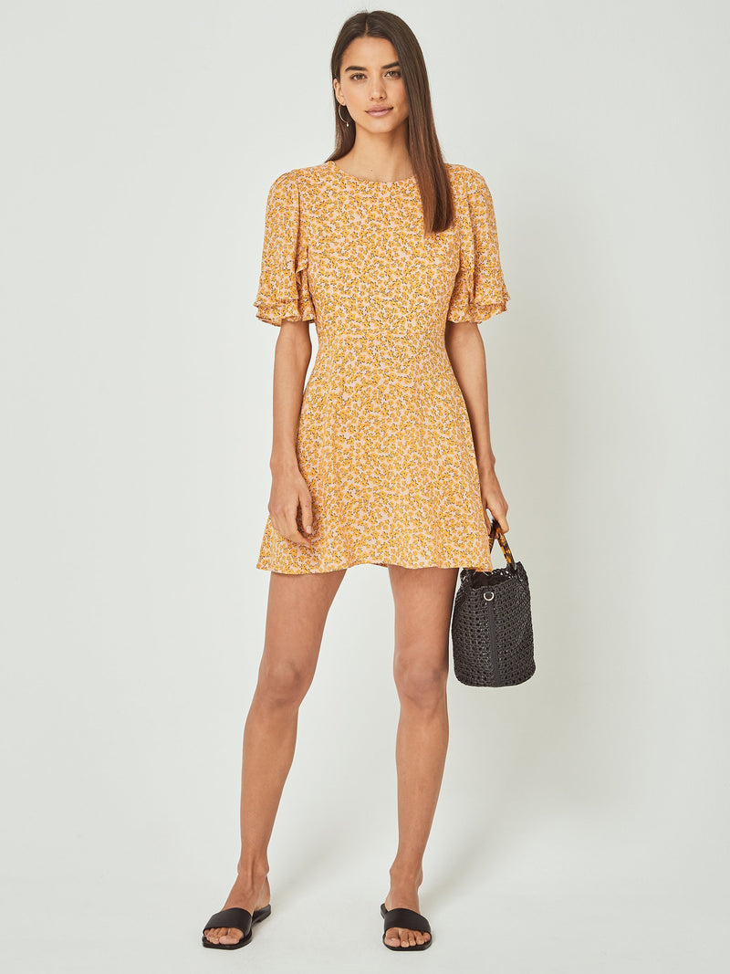 Auguste - Dean Gia Mini Dress - Yellow