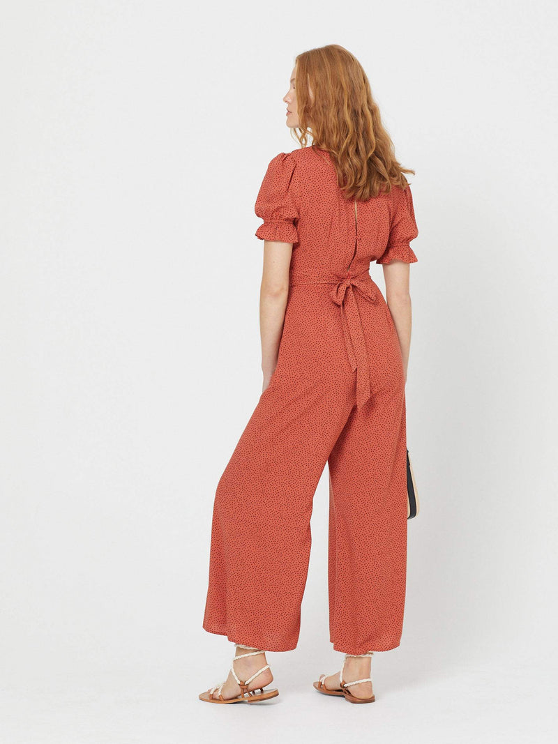 Auguste - Florence Roma Jumpsuit Terracotta