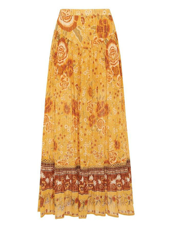 Spell Mystic Maxi Skirt - Sunflower