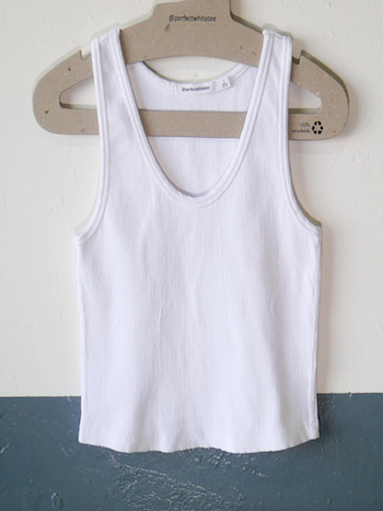 Perfectwhitetee - Blondie White Tank