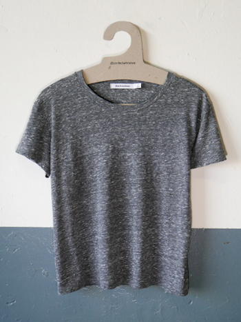 Perfectwhitetee - Harley Heather Grey Crew Neck