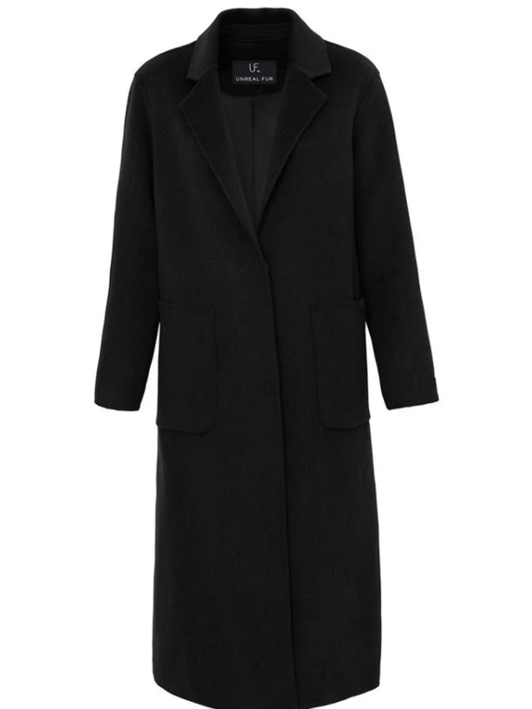 (Presale) Unreal Fur - Loving Coat - Black