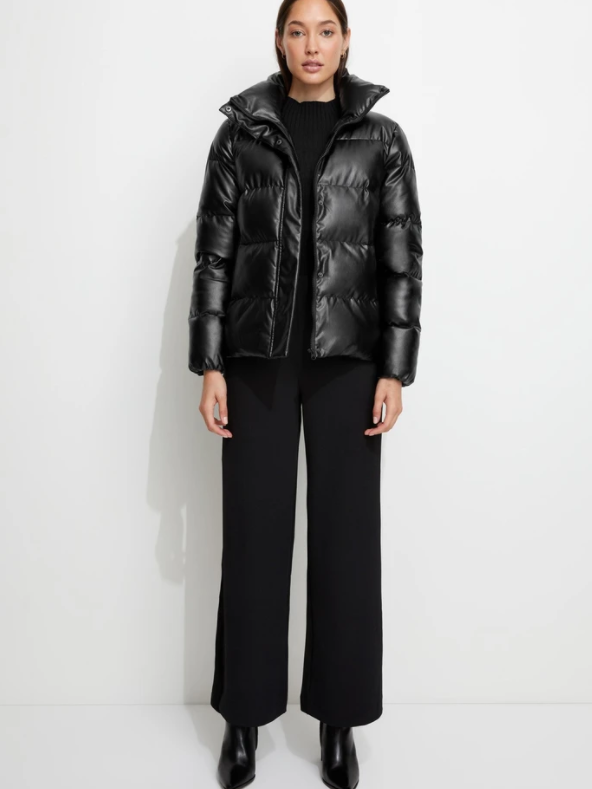 Unreal Fur - Major Tom Puffer Jacket - Black