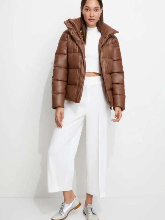 (Presale) Unreal Fur - Major Tom Puffer Jacket - Tan