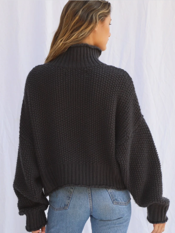 Jen's Pirate Booty - Apres Ski Pullover - Charcoal