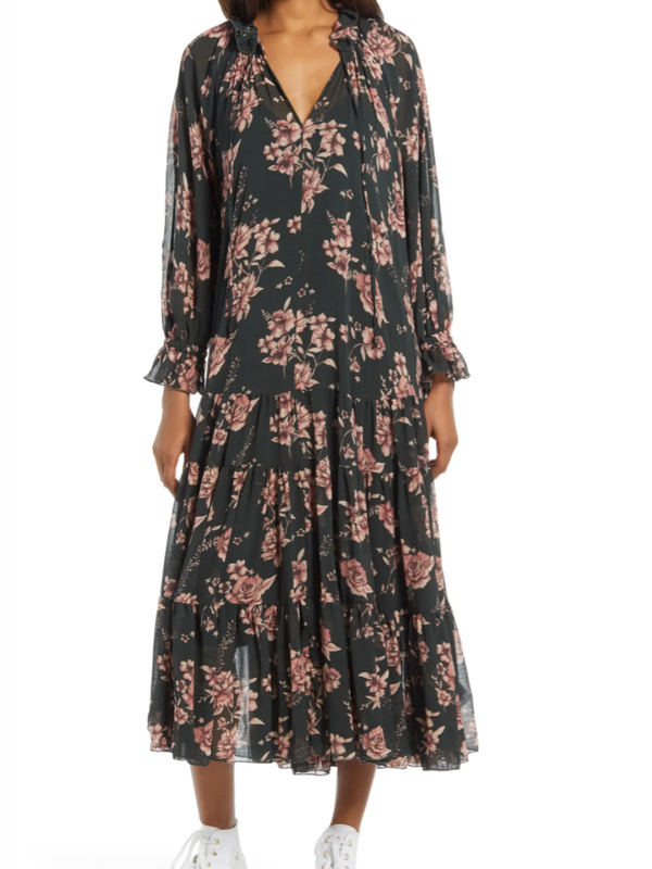 Free People - Feeling Groovy Maxi Dress - Forest