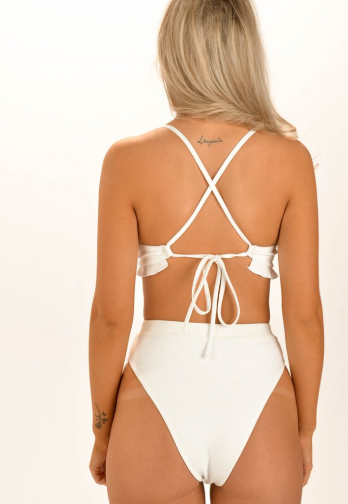 "Nora Swim - ""Bella"" Bottom White"