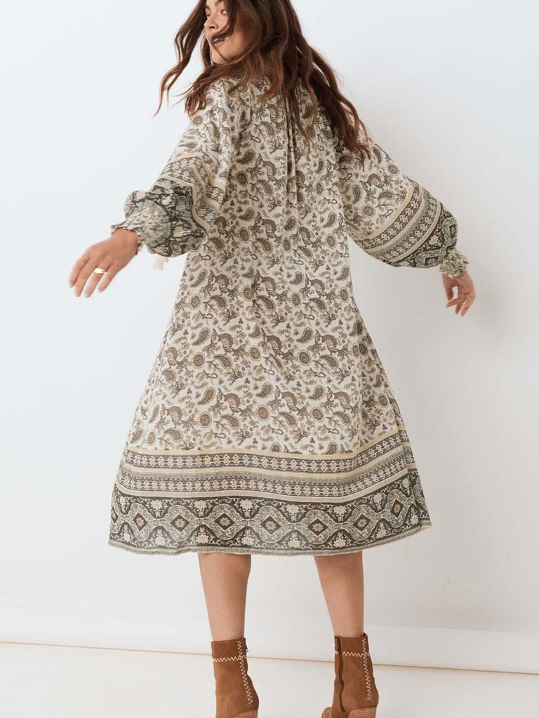 Spell - Journey Boho Dress Ash