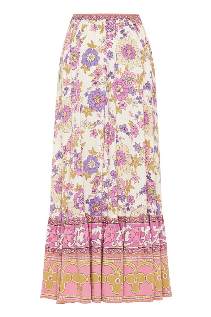 Spell - Buttercup Maxi Skirt - Meadow