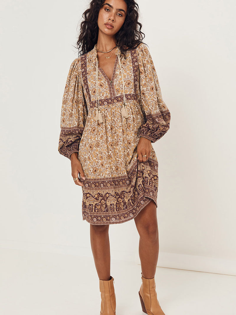 Spell Sundown Boho Mini Dress