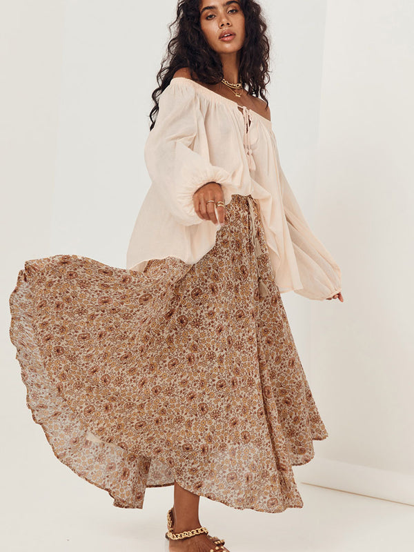 Spell Sundown Skirt - Spice