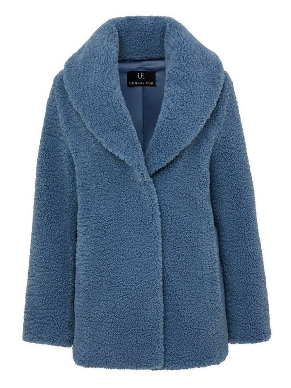 Unreal Fur - Freedom Jacket - Bluebell