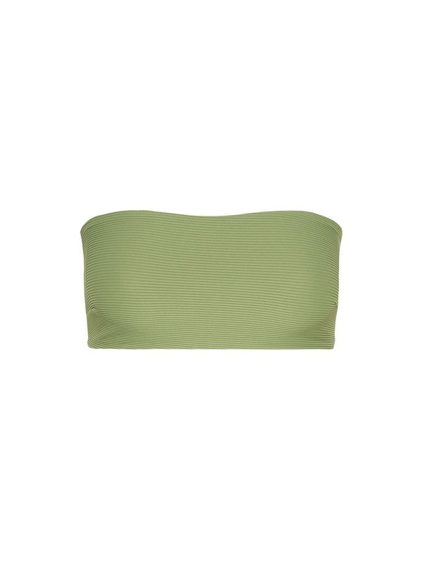 Zulu & Zephyr - Signature Bandeau Top - Tallow Green
