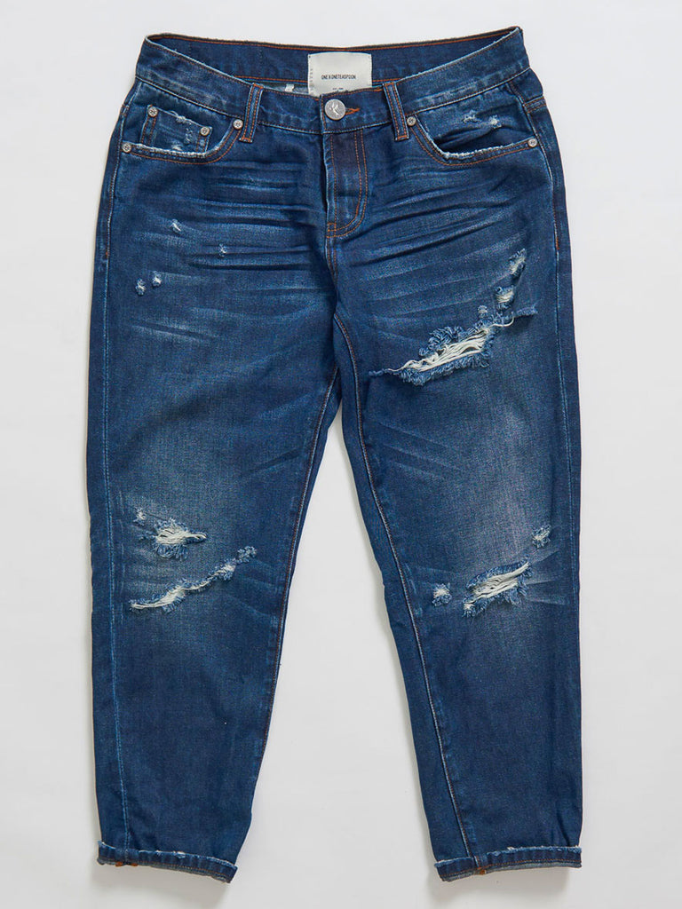One Teaspoon - Awesome Baggies - Straight Leg Jeans
