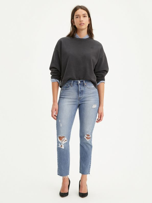 Levi's - Wedgie Fit - Authentically Yours - Medium Wash