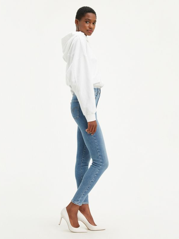 Levi's - Mile High Super Skinny - Better Safe Than Sorry - Medium Wash