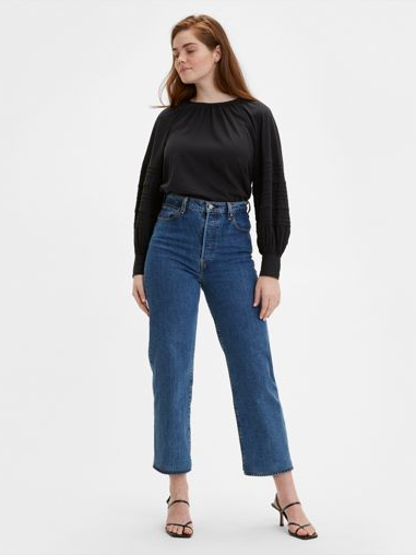 Levi's - Ribcage Straight Ankle - Medium Wash