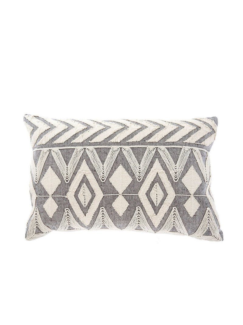 Annora Embroidered Pillow
