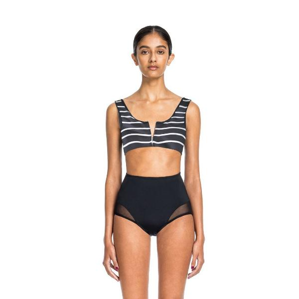 Beth Richards - Ines Top, Black Nautical