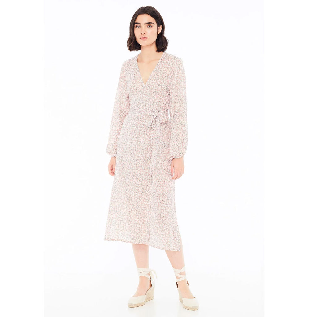 Le Fargo Midi Dress - Azalea Floral