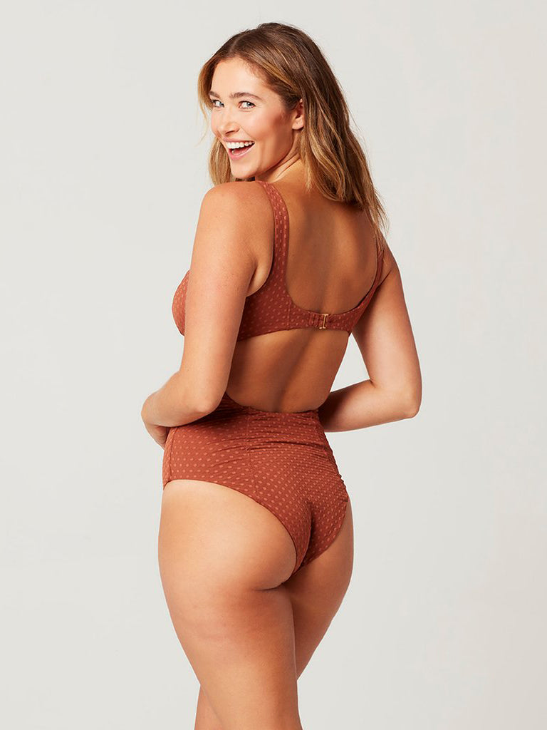 L*Space Nicolette One Piece Tobacco