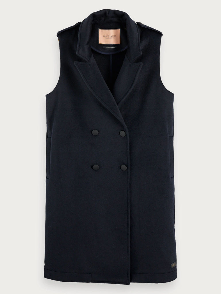Scotch & Soda - Long Double Breasted Gilet