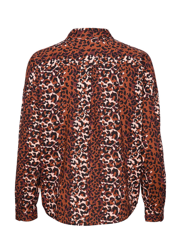 Scotch & Soda - Animal Print Viscose Top