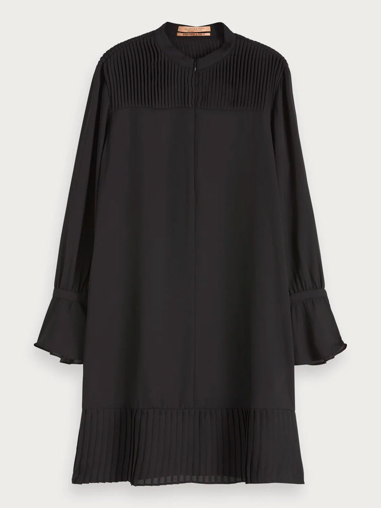 Scotch & Soda - Pleat Detail Dress