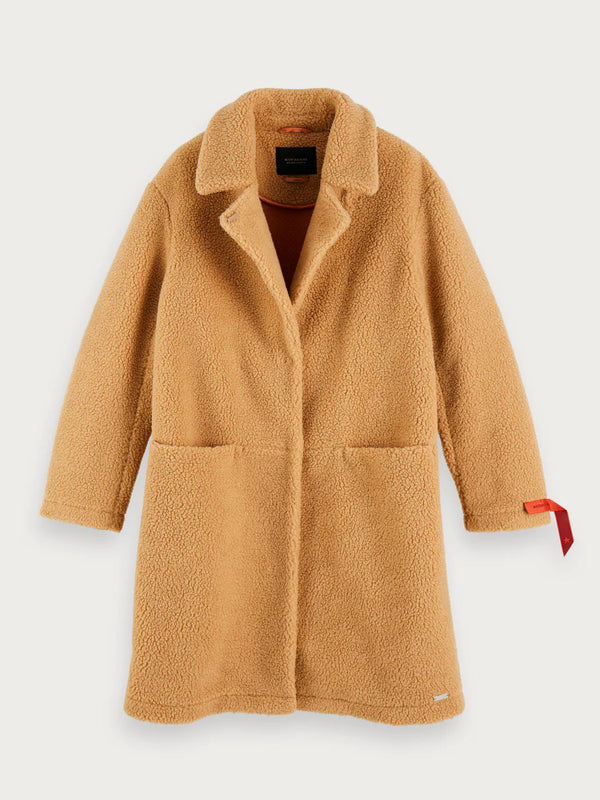 Scotch & Soda - Teddy Coat - Sand