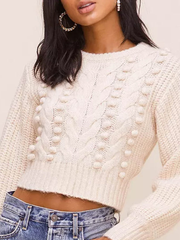 ASTR - Tina Sweater - Cream