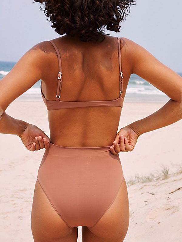 Toast Swim High Waist Bottom Clay