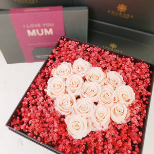 heart box, preserved rose, preserved flower, preserved rose box, rose box, rose, red rose, rose box sydney, rose delivery, flower box, flower box sydney, birthday rose, valentines rose, anniversary rose, florist sydney, rose boxes, rose box delivery, same day flower delivery, ring box, propose flower, birthday gift, white day, babys breath