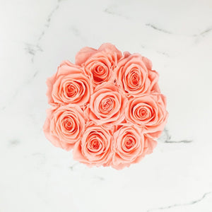 orange rose, forever roses, long lasting roses, preserved roses, preserved flowers, rose delivery sydney, valentines day rose sydney, rose box sydney